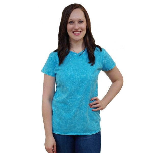 Artisans Apparel Crinkle Wash V-neck Tee