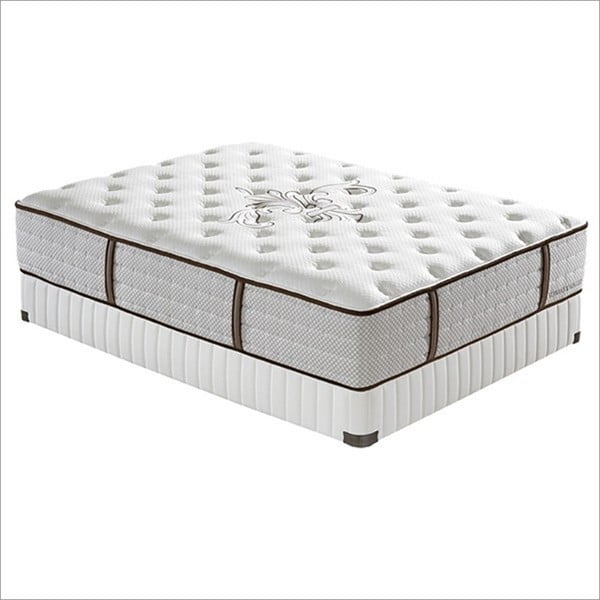 Stearns and Foster 13.5-inch California King-size Kathryn Firm Pocketed Coil Mattress Set