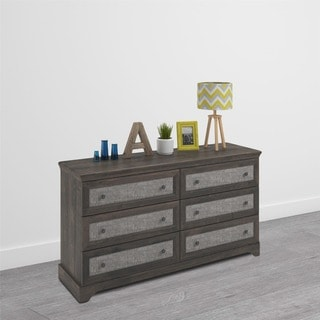 Altra Stone River 6 Drawer Dresser