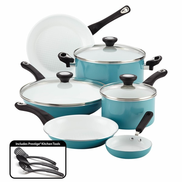 Farberware purECOok Ceramic Nonstick Cookware 12-Piece ...