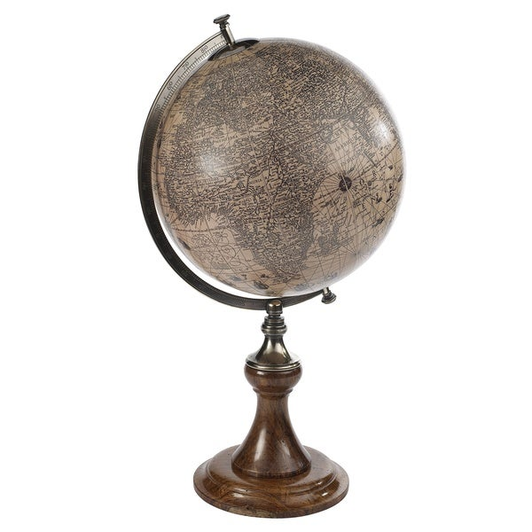 Hondius 17th Century Reproduction World Globe