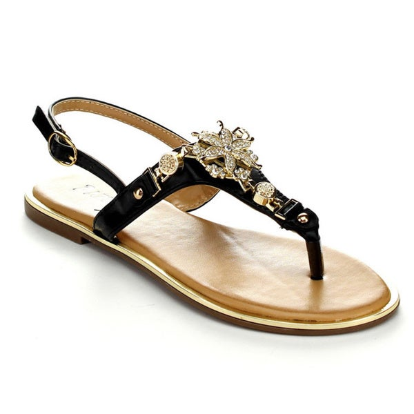 Pazzle NICKI-01 Women's Open Toe Slingback Sandals