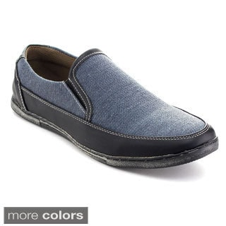 Rocus 4012 Men's Casual slip on Low Heel Elastic Side Penny Loafers