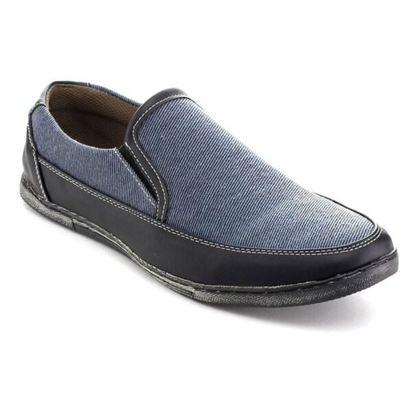 Rocus 4012 Men's Casual slip on Low Heel Elastic Side Penny Loafers