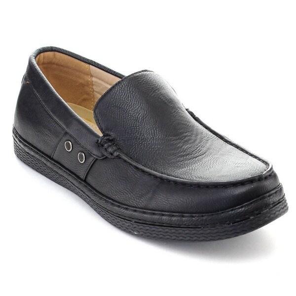 Rocus XH-93 Men's Casaul Slip On Moccasin Low Heel Penny Loafers