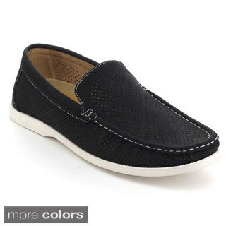 Rocus XH-91 Men's Cut Out Slip On Casual Moccasin Loafers
