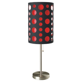 Journee Home 'City Lights' 30 inch Brushed Steel Table Lamp