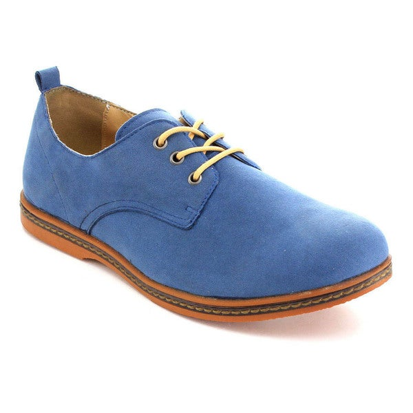 Rocus GF-01 Men's Classic Low Top Lace Up Oxfords
