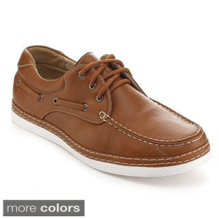 Rocus XH-95S Men's Moccasin Lace Up Low Top Oxfords