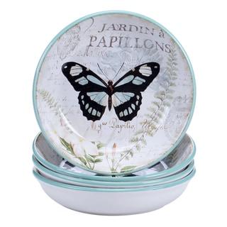 Certified International Tuileries Garden Soup/Pasta Bowl 9.25-inch x 2-inch (Set of 4)