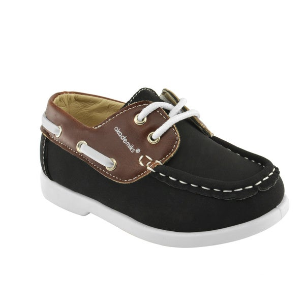 Akademiks Toddler Boys' Lace-Up Boat Shoes