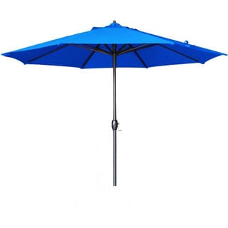 Somette 9-Foot Market Umbrella Aluminum Center Pole with Bronze Finish and Olefin Fabric
