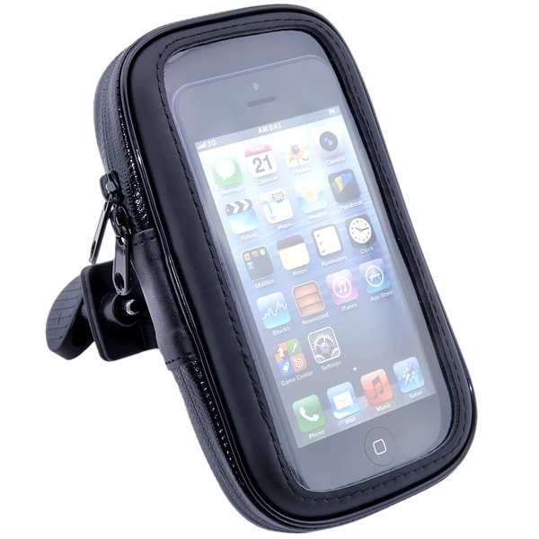 Patuoxun Motorcycle Bike Bicycle Handlebar Mount Holder WaterProof Case Bag Pouch for iPhone Samsung HTC
