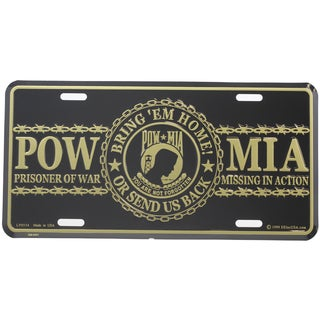 POW MIA You Are Not Forgotten License Plate