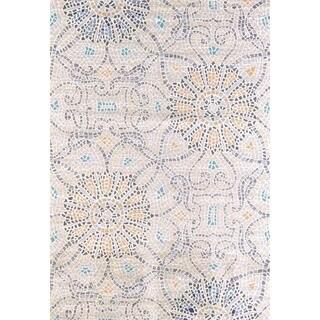 "Tranquility Sea Mosaic Area Rug (7'10"" x 10'6"")"