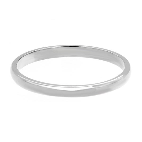 Sterling Essentials Silver Polished 1.5mm Midi Ring
