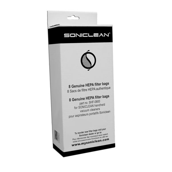 Soniclean Handheld HEPA Filter Bags 15353540