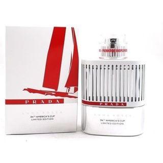 Prada Prada Luna Rossa 34th America's Cup Limited Edition Men's 3.4-ounce Eau de Toilette Spray