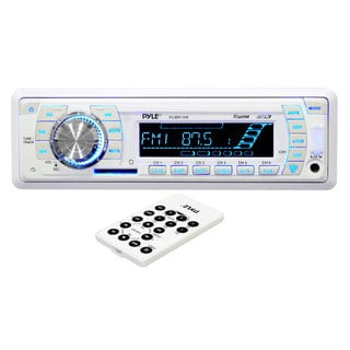 Pyle PLMR19W AM/FM-MPX PLL Tuning Auto Receiver with SD/ MMC/ USB Inputs and Weather Band (Refurbished)