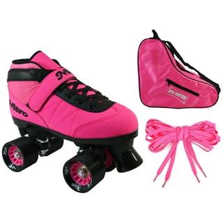 Epic Neon Pink Nitro Speed Skate 3-piece Bundle