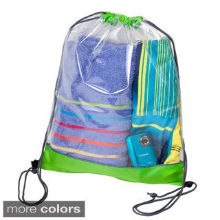 The Transparent Clear Drawstring Backpack