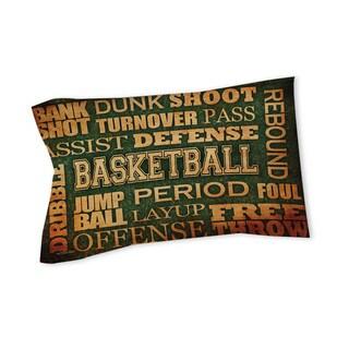 Thumbprintz Basketball Words Sham