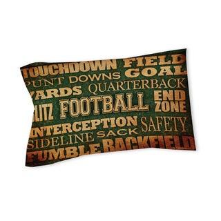 Thumbprintz Football Words Sham