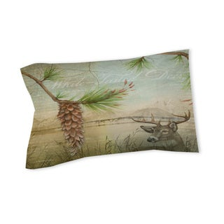 Thumbprintz Conifer Lodge Deer Sham