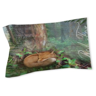 Thumbprintz Conifer Lodge Fox Sham