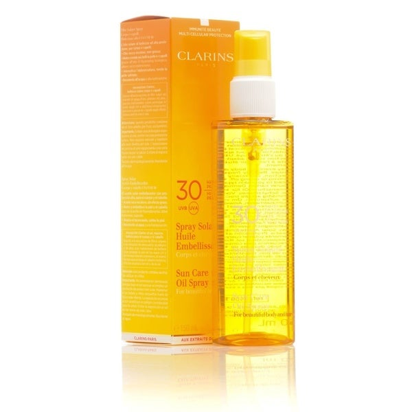 Clarins Sun Care Oil 5-ounce Spray SPF 30