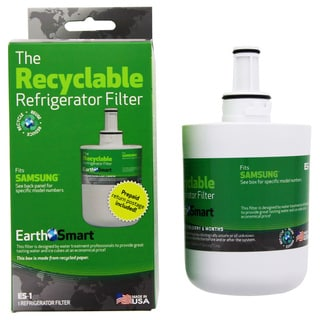 EarthSmart ES-1 Recyclable Replacement Refrigerator Water Filter