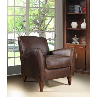 Ragtime Chap Brown Leather Chair