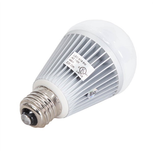Somette A19 9 Watt Indoor Dimmable LED Bulb
