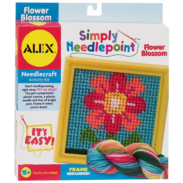 Simply Needlepoint KitFlower
