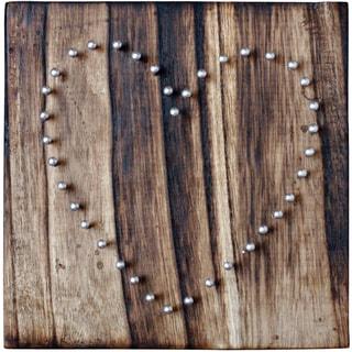 String Art Board Heart