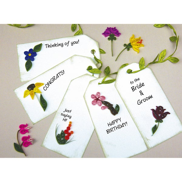 Quilling KitMini Flower Gift Tags