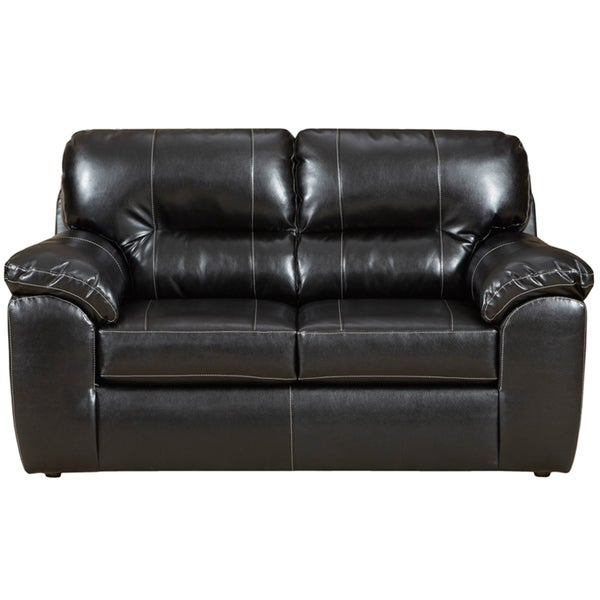 Taos Black Loveseat