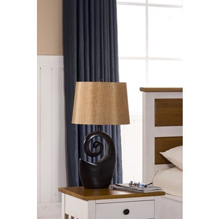 Table Lamps Espresso / Brown Finish (Set of 2)