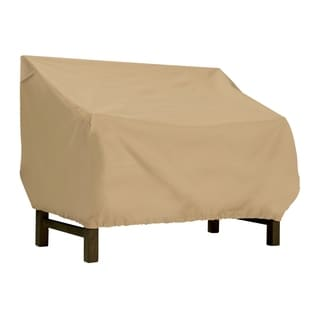 Classic Accessories Terrazzo Patio Bench/ Loveseat Cover
