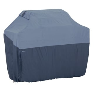 Classic Accessories Belltown Gas Grill Cover Blue