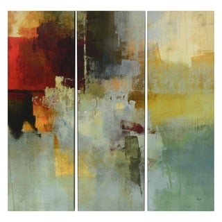 Big City Canvas 3-piece Art Panel Set