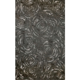 Dyed Roses Outdoor Rug (5' x 8')