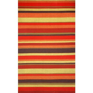 Multi Stripe Outdoor Rug (5' x 8')