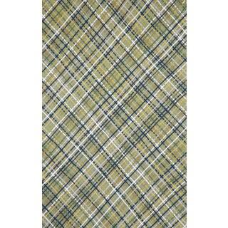 Plaid Outdoor Rug (3'6 x 5'6)