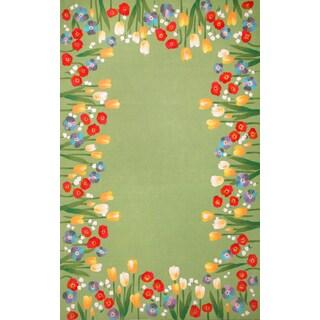 French Garden Outdoor Rug (3'6 x 5'6)