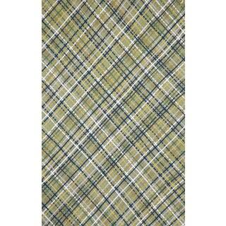 Plaid Outdoor Rug (5' x 8')