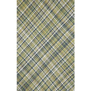Plaid Outdoor Rug (8' x 10')