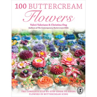 F&W Books100 Buttercream Flowers