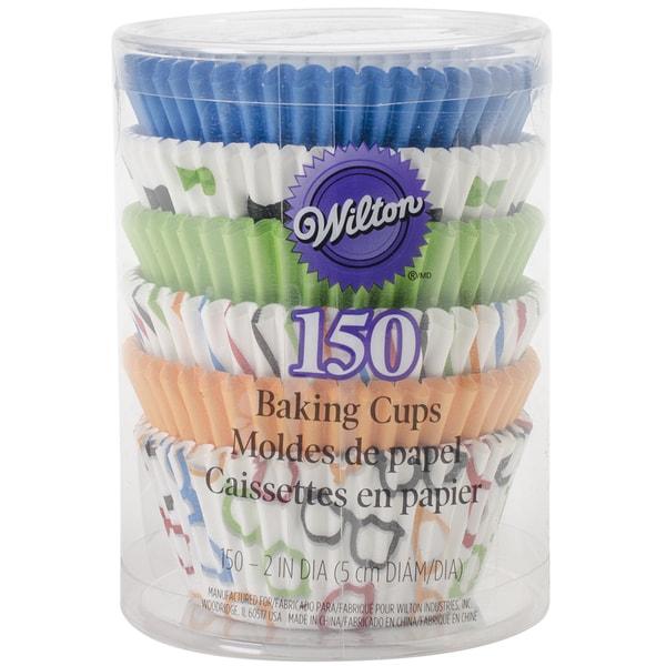Standard Baking CupsGlasses & Bows 150/Pkg 15355762
