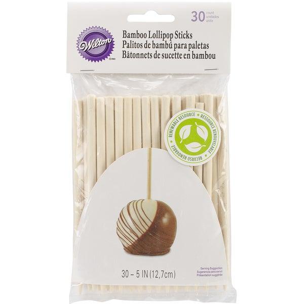 Bamboo Lolli Sticks 5in 30/Pkg
